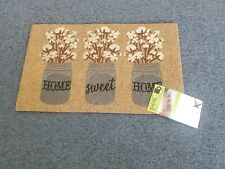 New!! MoHawk Home Doormat made of Recycled Rubber