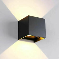 12W LED Wall Lamp Indoor Sconce Light IP65 Waterproof Adjust Angle Up Down 4000K