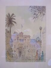 RICHARD LOPEZ BARREIROS MCM DRAWING PICTURE BUENOS AIRES 1982 ARTIST SIGNED