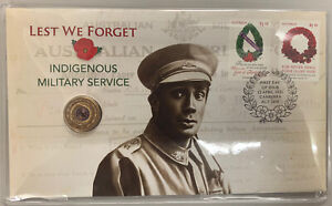 2021 Lest We Forget Indigenous Military Service PNC. Coloured $2. Limited 7500.