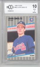 1989 Fleer John Smoltz (HOF) (Rookie Card) (#602) BCCG10 BCCG