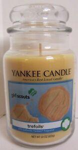 Yankee Candle Large Jar Candle 110-150 hrs 22 oz Girl Scouts TREFOLIS
