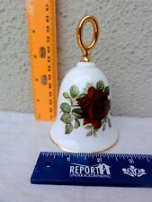 "Danbury Mint American Rose Bell Collection "" Josephine Bruce "" - Exquisite"
