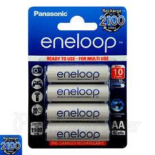 4 x Panasonic Eneloop AA batteries 1900mAh Rechargeable Ni-MH Accu LR06 BK-3MCCE