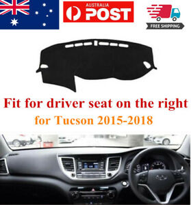 RHD Dash Mat Dash Cover Dashboard No Slips For Hyundai Tucson 2015-2019