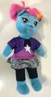 "Build A Bear BAB Honey Girl HG VIV Rockstar Outfit Blue Pink Hair 20"" Plush"