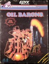 EPYX Oil Barons Strategy Game for the Commodore 64  - Complete