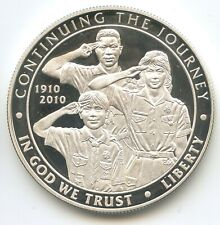 H1007 - USA 1 Dollar 2010 KM#480 Boy Scouts of America Centennial United States