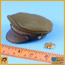 WWII US Army Officer A - Officer Hat w/ Badge - 1/6 Scale - Alert Line Figures