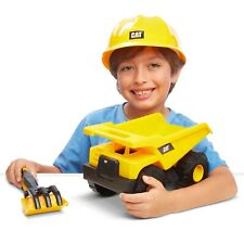 Funrise - CAT Construction Fleet Sand Set, Dump Truck & Helmet New In Box !!!