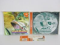 Dreamcast GET BASS with SPINE * Sega Japan Game dc