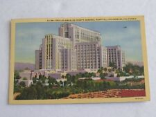 F305 Postcard Los Angeles County General Hospital CA California