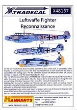 Xtra Decals 1/48 LUFTWAFFE FIGHTER RECONNAISSANCE Aircraft