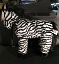 Ty Classic Serengeti Plush Stuffed Zebra - 1999 New MWNMT Retired 12''