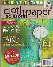 CLOTH PAPER SCISSORS MAGAZINE March/April 2014.