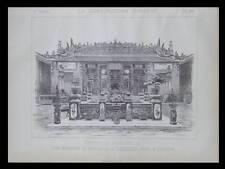 EXPOSITION UNIVERSELLE 1889, PAVILLON COCHINCHINE -  PLANCHE - FOULOUX