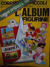 Corriere dei Piccoli 41 1969 completo di ALBUM FIGURINE Spillato+figurin - [C17]