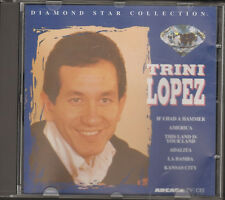 TRINI LOPEZ Diamond Star Collection CD 17 tr AMERICA LA BAMBA IF I HAD A HAMMER