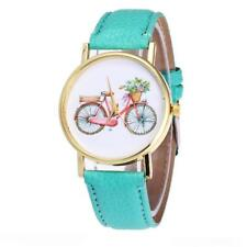 LADIES TRADITIONAL BIKE WATCH - GUARANTEED + SPARE BATTERY - FREE UK P&P..CG1166