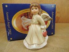 GOEBEL Jahresengel 2003 Engel Limited Edition 13 cm OVP Engel mit Herz