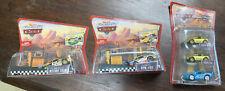 Pixar Cars Diecast Pit Race-Off Octane Gain RPM #64 Dinoco Dream Mia Tia Lot (3)
