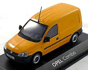 Opel Combo C Box Truck Delivery-Van 2001-03 Orange 1:43 Minichamps