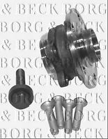 BWK978 BORG & BECK WHEEL BEARING KIT fits Audi, Seat, Skoda, VW- Front