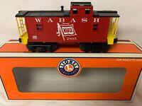 ✅LIONEL WABASH FOLLOW THE FLAG LIGHTED CABOOSE 6-26580 NEW! O GAUGE TRAIN SET