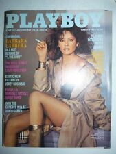 Magazine PLAYBOY US march 1982 Barbara Carrera
