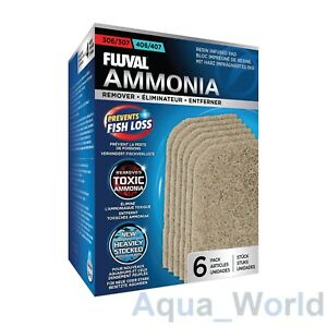 Fluval 307/407 Resin Infused Ammonia Remover Pad