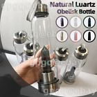 AU Drink Crystal Water Natural Quartz Gemstone Bottle Point Obelisk Healin