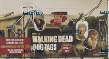 Walking Dead Season 2 Update Dog Tags Box