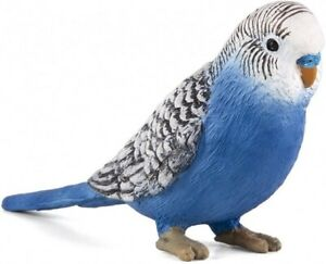 Mojo 387292 Budgie Blue 3 1/8in Wild Animals