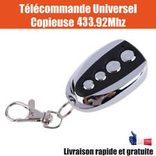 Télécommande copieuse Universelle portail Garage 4 channel 433.92 Mhz code fixe