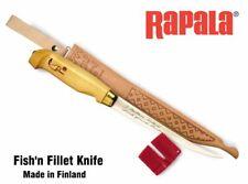 Rapala Fish'n Fillet Knife With Sharpener, BPFNF4, BPFNF6, BPFNF7, BPFNF9