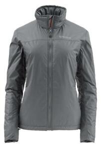 Simms Womens Small Gray Midstream Insulated Fishing Jacket PrimaLoft  $199