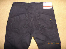 i CABRAL BLACK JEANS PANTS 30 x 30 back flap pockets