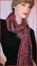 Donna Misto E Scialli Da Foulard Multicolore In Lana Sciarpe gxw6Oq1n
