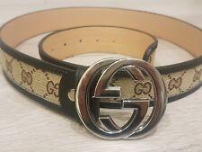 Cinturón Gucci Para Hombre De Colección Clásico Color
