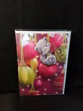 'Merry Christmas' General/Open Me To You Christmas Card - Tatty Bear - cute