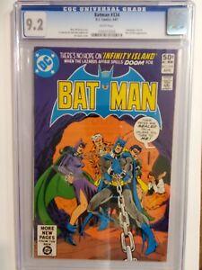 BATMAN #334 (CGC 9.2) 1981 CATWOMAN COVER & APPEARANCE; RA'S AL GHUL APP