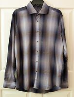 Bugatch Uomo Men's L L/S Shirt Classic Fit 100% Cotton
