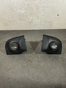 FIAT 500 FRONT FOG LIGHTS WITH TRIMS PAIR LEFT AND RIGHT SIDE