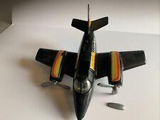 Vintage 1979 Tonka Hand Commander Plane, Turbo Prop, Black Airplane