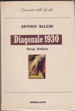 Antonio Baldini, Diagonale 1930, Parigi Ankara, viaggi, memorie, Lo Specchio