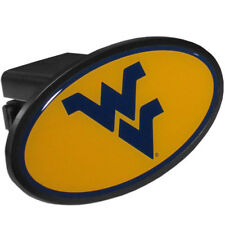 West Virginia Mountaineers Durable Plastic Oval Hitch Cover NCAA Licensed