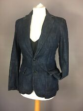 Womens Ralph Lauren Denim/cotton Blazer Size 2 (small)