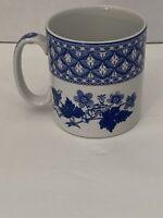 Spode England Coffee Cup Geranium Blue Room Collection