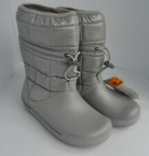 Crocs Ladies/girls warm lined winter padded/puff/quilted snow boots/wellies.