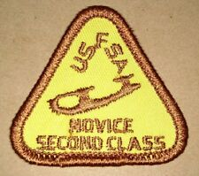 USFSA Novice Second Class Embroidered Patch US Figure Skating Association